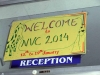 Convention welcome sign