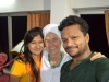 Simran with Pallavi and Ashish