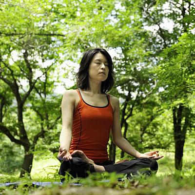 De-stressing meditation