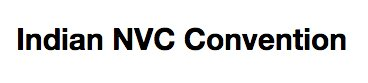 Indian NVC Convention